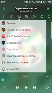jetAudio HD Music Player Plus 10.8.2 (Mod Silver Design)