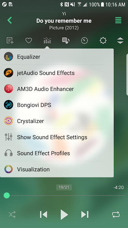 jetAudio HD Music Player Plus  poster 0