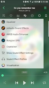 jetAudio HD Music Player Plus v10.8.2 Mod APK Material Design