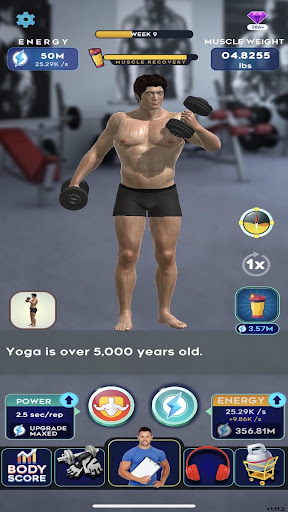 Idle Workout ! modavailable screenshots 7