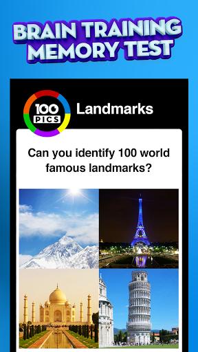 100 PICS Quiz - Guess Trivia, Logo & Picture Games Apkfinish screenshots 5