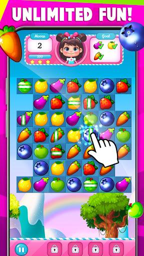 Fruit Crush : Fruit Candy Blast - Match Puzzle  screenshots 8