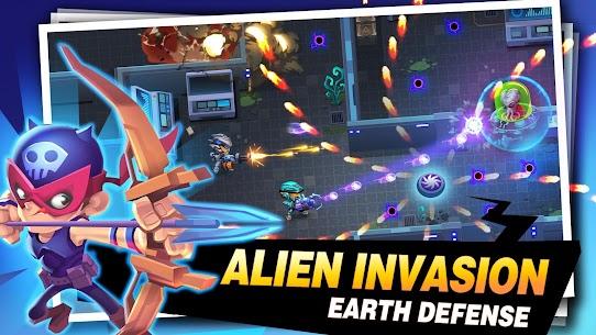 Bullet Brawl: Alien Battlelands Shootout MOD (Money/Bombs/Ammo) 2