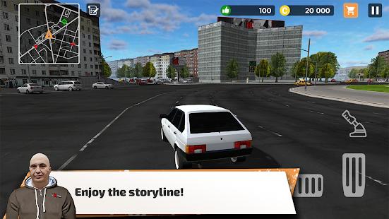 Big City Wheels - Courier Simulator Mod Apk