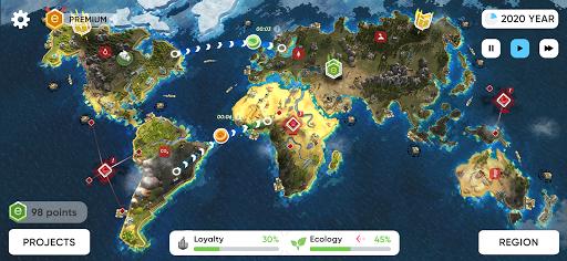Save the Earth - Eu0421O Strategy  screenshots 6