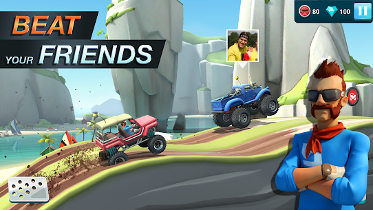 MMX Hill Dash 2 Mod Apk (Unlimited Money) 4