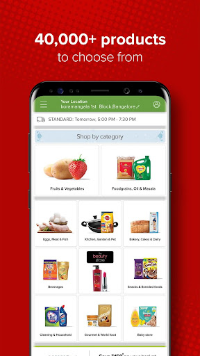 bigbasket - Online Grocery Shopping App 5.2.8 screenshots 2