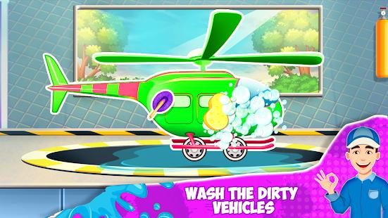 Car Wash- Kids Car Wash Cleaning Service Game 2021 1.1.4 screenshots 4