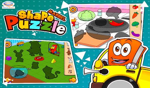 Marbel Shape Puzzle Kids Games modavailable screenshots 13