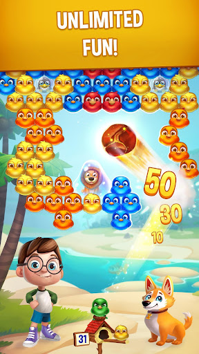 Bubble Birds V - Color Birds Shooter modavailable screenshots 14