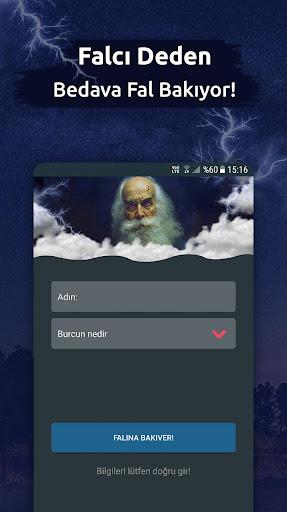 Falcu0131 Dede - Bedava Medyum Fal Bak android2mod screenshots 1