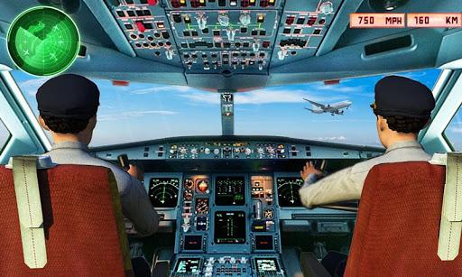 Flight Simulator 3D: Flight Pilot Airplane Games APK MOD – Pièces de Monnaie Illimitées (Astuce) screenshots hack proof 1