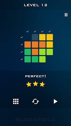 blockfield - block pieces puzzle touch simple game screenshot 3