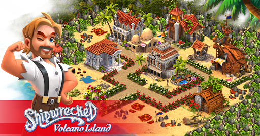 Volcano Island: Tropic Paradise apkmartins screenshots 1