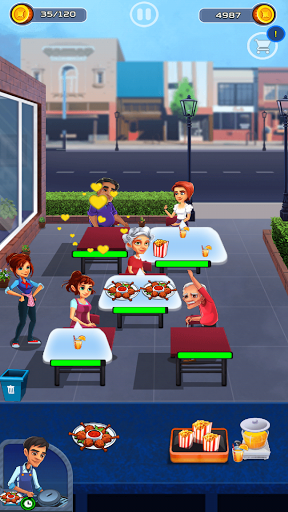Cooking Cafe - Food Chef apkslow screenshots 13