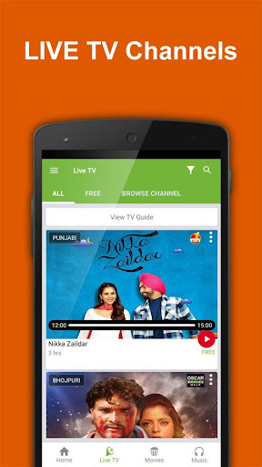 Foto do Movies n Music :Live TV Videos