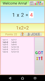 Memorize Times Tables (Ad Free)