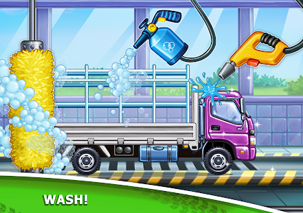 Image For Truck games for kids - build a house, car wash Versi 7.3.4 15