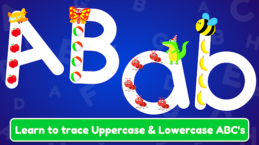 ABC Tracing & Phonics for Preschoolers & Kids Game  screenshots 1