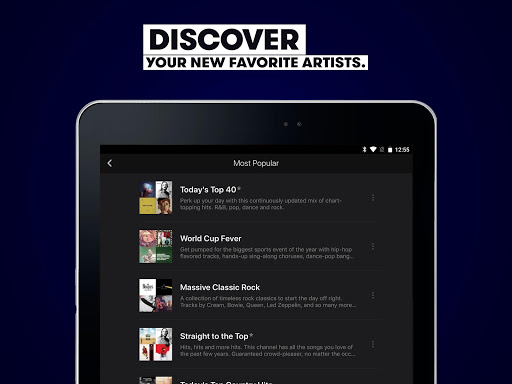 Stingray Music - Curated Radio & Playlists modavailable screenshots 9