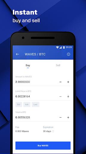 Waves.Exchange  Screenshots 5