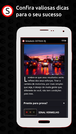 Simulado DETRAN RJ apktram screenshots 4