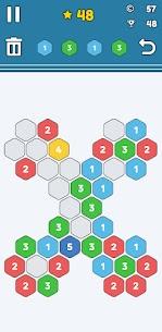 Merge Number Puzzle v3 mod APK (Unlimited Money) Download 3