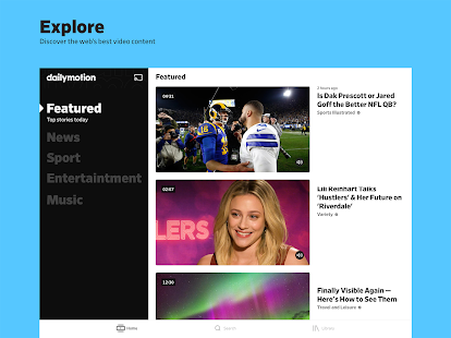 Dailymotion - the home for videos that matter Screenshot