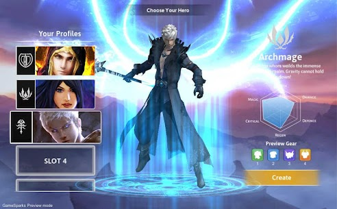 Dawnblade Mod Apk (Unlimited Money + Free Exp) 2