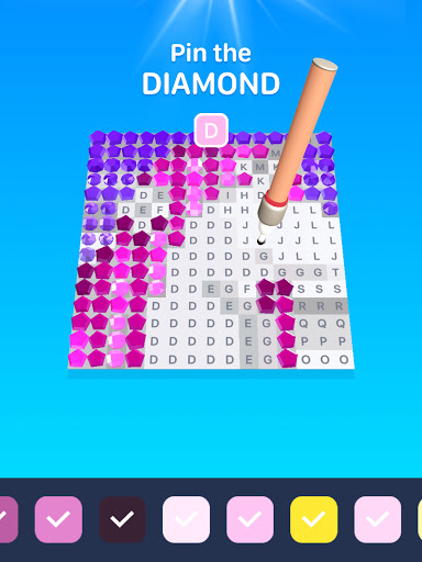 DIAMOND BOOK - Relaxing Art Painting and Coloring 1.0 screenshots 6