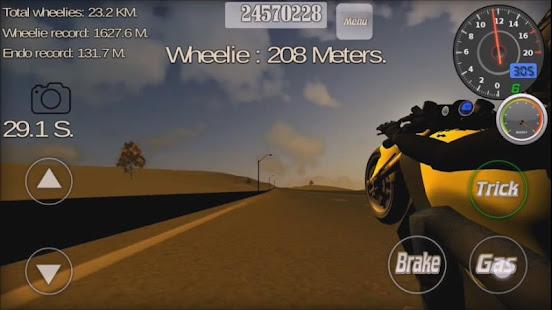 Wheelie King 3D - Realistic free  motorbike racing 1.0 Screenshots 10