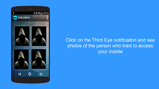 Third Eye Pro v1.1.9 Cracked APK – Find Who Tries to access your mobile 3