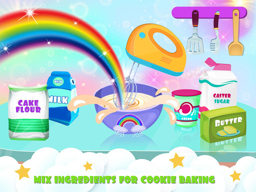 Unicorn Cookie Baker Kitchen apklade screenshots 2