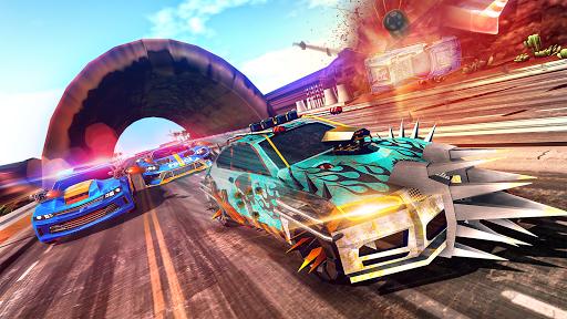 Police Highway Chase Racing Games - Free Car Games  screenshots 1