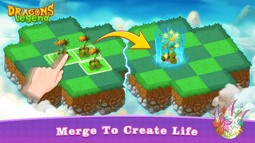 Dragons Legend - Merge and Build Game 1.0.13 screenshots 11