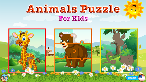 animals puzzle - jigsaw puzzle game for kids screenshot 1