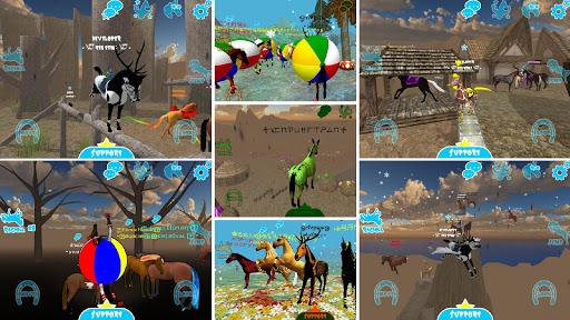 hill cliff horse - online screenshot 2