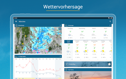 RegenRadar - Vorhersagen & live Wetterradar  screenshots 10