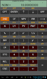 Ba Financial Calculator plus Screenshot