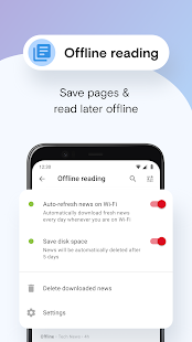 Opera Mini browser beta Screenshot