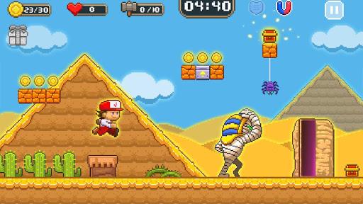 Super Jim Jump - pixel 3d 3.6.5026 screenshots 5