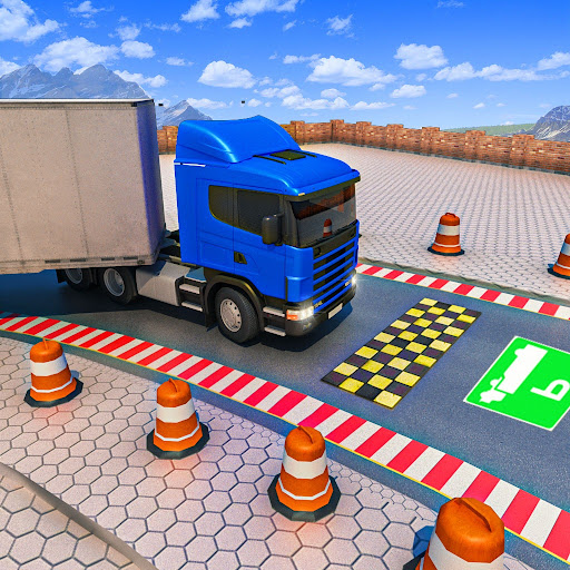 New Truck Parking City Drive : Free Game 2021  screenshots 1