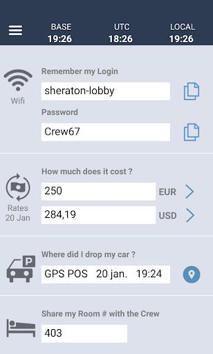 CONNECT - CrewLounge AERO 2.0 screenshots 5