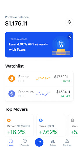 Coinbase – Buy & Trade Bitcoin, Ethereum & more  screenshots 8