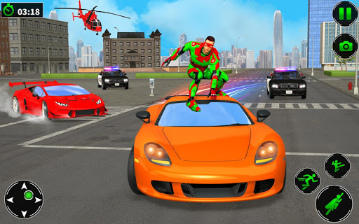 Light Robot Superhero Rescue Mission 2 32 screenshots 8