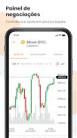 screenshot of Mercado Bitcoin Oficial