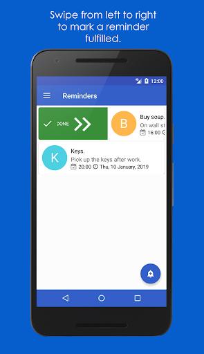 My Reminders - UniReminders 1.1.5 Winter Screenshots 5