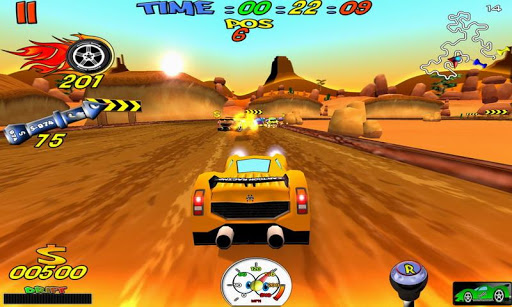Cartoon Racing apktram screenshots 8