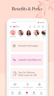 Myntra Online Shopping App - Shop Fashion & more Screenshot