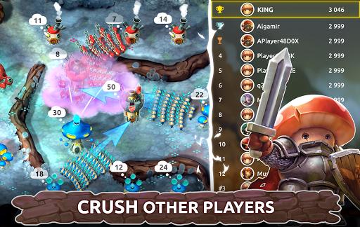 Mushroom Wars 2: RTS Tower Defense & Mushroom War apkpoly screenshots 4
